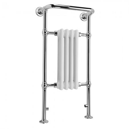 Adara - Traditional Towel Radiator - H963mm x W493mm - Floor Standing