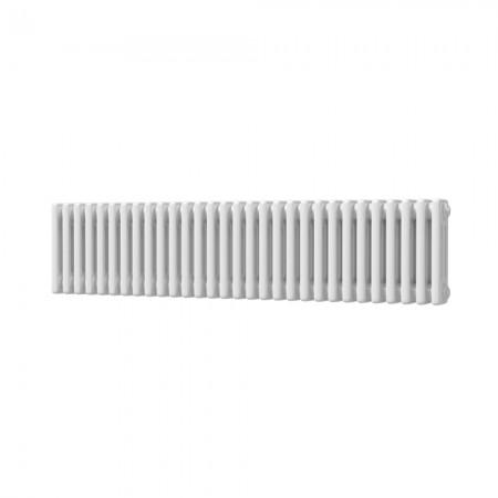 Alpha - White Column Radiator - H300mm x W1355mm - 3 Column