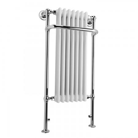 Balthazar - Traditional Towel Radiator - H1130mm x W553mm - Floor Standing