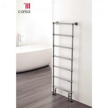 Victoria - Traditional Towel Radiator - H1340mm x W500mm - Floor Standing