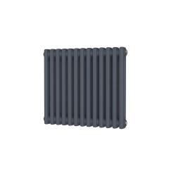 Alpha - Anthracite Column Radiator - H500mm x W592mm - 2 Column