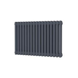 Alpha - Anthracite Column Radiator - H500mm x W768mm - 2 Column