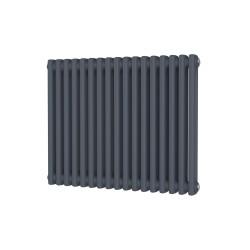 Alpha - Anthracite Column Radiator - H600mm x W768mm - 2 Column