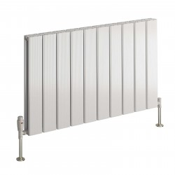 Stadia - Oxidised Aluminium Horizontal Radiator - H600mm x W1255mm - Single Panel
