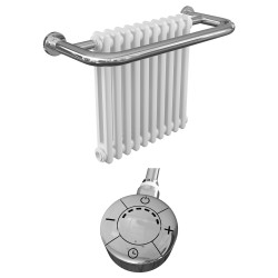Adonia - Traditional Electric Towel Radiator - H491mm x W741mm - 600w Thermostatic