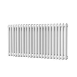 Alpha - White Column Radiator - H500mm x W988mm - 2 Column