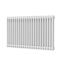 Alpha - White Column Radiator - H600mm x W988mm - 2 Column