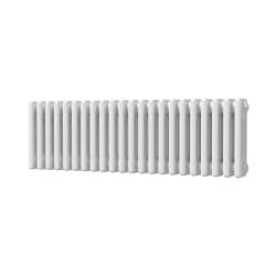 Alpha - White Column Radiator - H300mm x W999mm - 3 Column