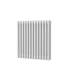 Alpha - White Column Radiator - H600mm x W599mm - 3 Column