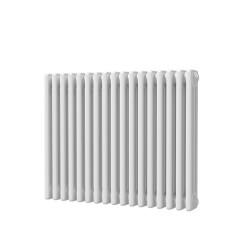 Alpha - White Column Radiator - H600mm x W777mm - 3 Column