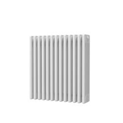Alpha - White Column Radiator - H600mm x W592mm - 4 Column