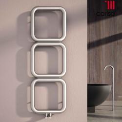 Baro - Stainless Steel Vertical Radiator - H500mm x W500mm