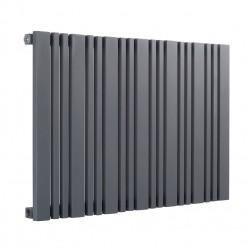 Bonera - Anthracite Horizontal Radiator - H550mm x W456mm - Single Panel
