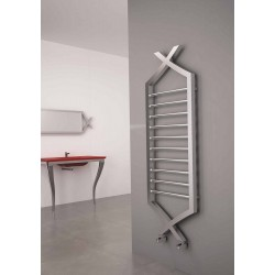 Carisa Clasico Stainless Steel Designer Heated Towel Rail 1490mm x 500mm