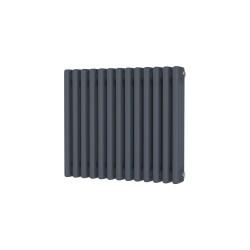 Alpha - Anthracite Column Radiator - H500mm x W599mm - 3 Column