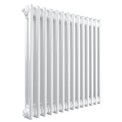 Stelrad Column - White Column Radiator - H600mm x W628mm - 2 Column