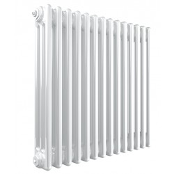 Stelrad Column - White Column Radiator - H600mm x W444mm - 3 Column