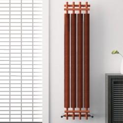 Dora - Copper Vertical Radiator - H1800mm x W390mm
