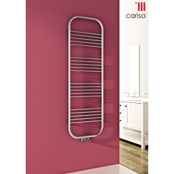 Carisa Electra Chrome Designer Heated Towel Rail
