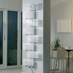 Parallel - White Towel Radiator - H1762mm x W650mm
