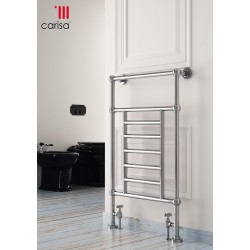 Carisa Edward Floor Standing Traditional Heated Towel Rail 950mm x 650mm