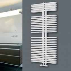 Helios - White Towel Radiator - H1176mm x W600mm