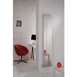 Florida - Stainless Steel Vertical Radiator - H600mm x W590mm