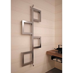 Carisa Flap Stainless Steel Designer Heated Towel Rails