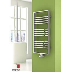 Carisa Frame Chrome Designer Heated Towel Rails