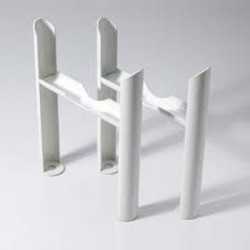 Klassic - Column Radiator Feet - 4 Column - White