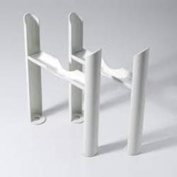 Klassic - Column Radiator Feet - 6 Column - White