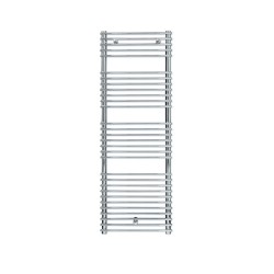 Siracusa - Chrome Towel Radiator - H730mm x W500mm - Chrome