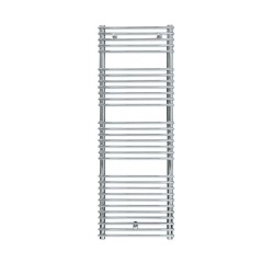 Siracusa - Chrome Towel Radiator - H730mm x W600mm - Chrome