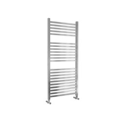 Lazzarini Todi Straight Chrome Designer Heated Towel Rail