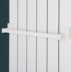 Magnetic - Radiator Towel Bars - 400mm White