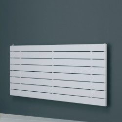 Mars - White Horizontal Radiator - H295mm x W1800mm