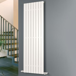 Mars - White Vertical Radiator - H600mm x W595mm