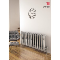 Carisa Mayra Chrome Horizontal Designer Radiators