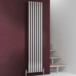 Nerox - Stainless Steel Vertical Radiator - H1800mm x W295mm - Single Panel