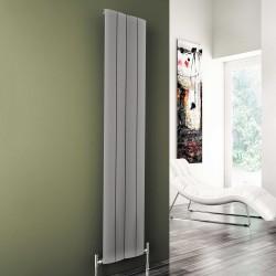 Play - Oxidised Aluminium Vertical Radiator - H1800mm x W185mm