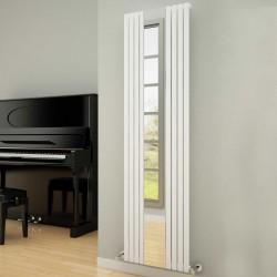 Reflect - White Vertical Radiator - H1800mm x W445mm - Single Panel