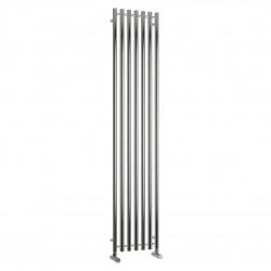 Broni - Stainless Steel Vertical Radiator - H1800mm x W374mm