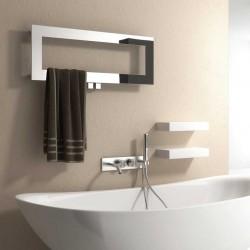 Bivano - Stainless Steel Towel Radiator - H300mm x W800mm