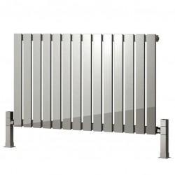 Calix - Stainless Steel Horizontal Radiator - H600mm x W435mm