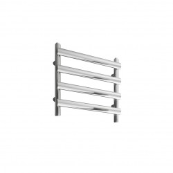 Deno - Stainless Steel Towel Radiator - H496mm x W500mm  - Brushed
