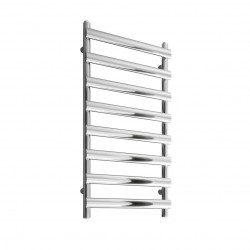 Deno - Stainless Steel Towel Radiator - H992mm x W500mm  - Brushed