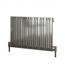 Versa - Stainless Steel Horizontal Radiator - H600mm x W415mm