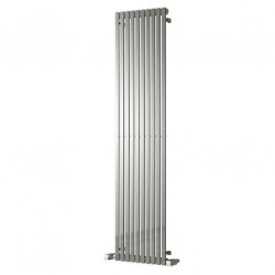 Xenia - Stainless Steel Vertical Radiator - H2000mm x W245mm