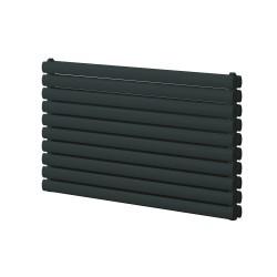 Roda - Anthracite Horizontal Radiator - H590mm x W1000mm - Single Panel