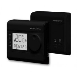RT7RF - Wired Room Thermostat - 7 Day Programmable - Black